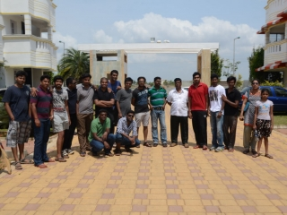 Team outing at Odour Resort – 2014